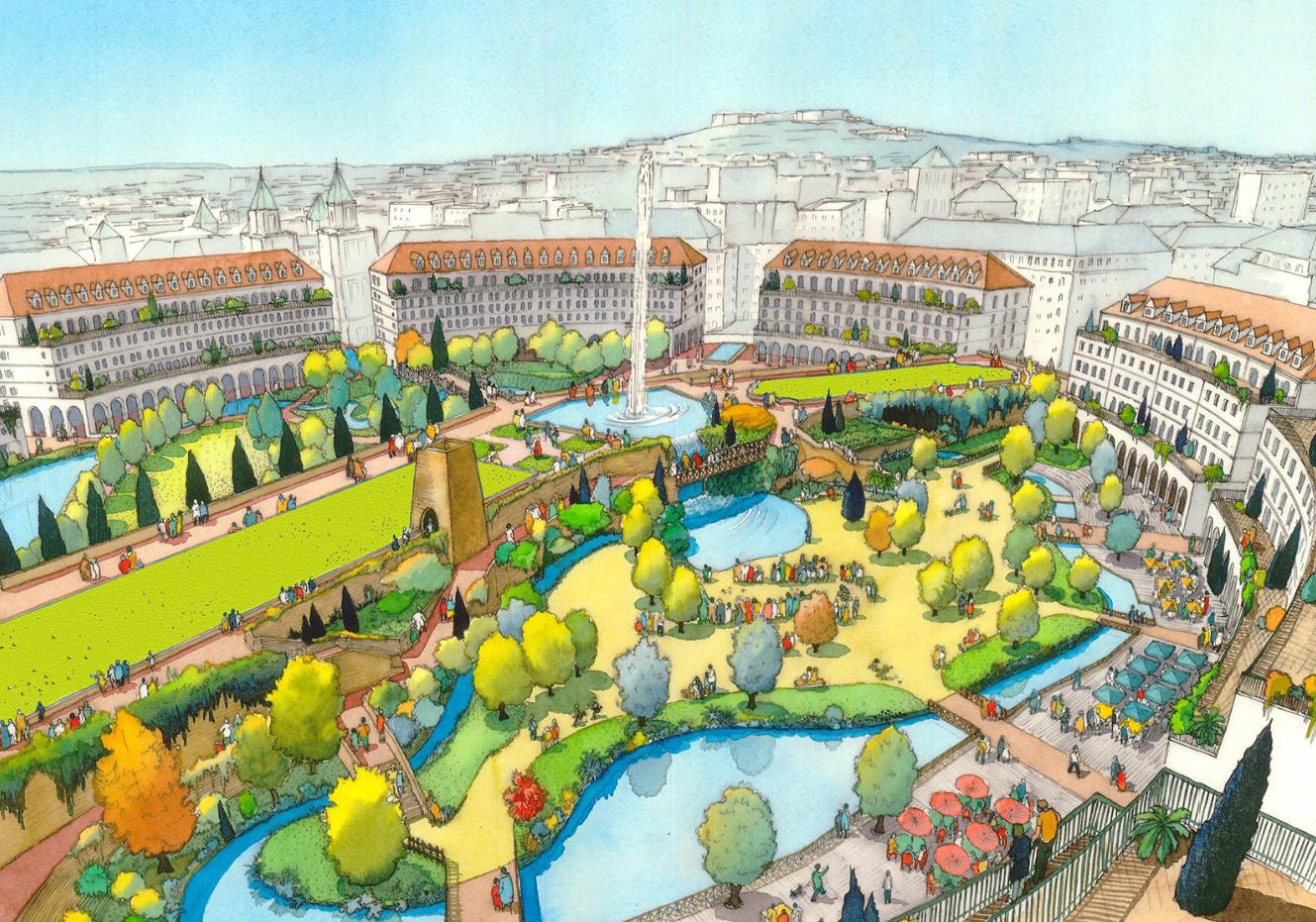 Ecoquartier Des Bergeres Urban Eco Scop